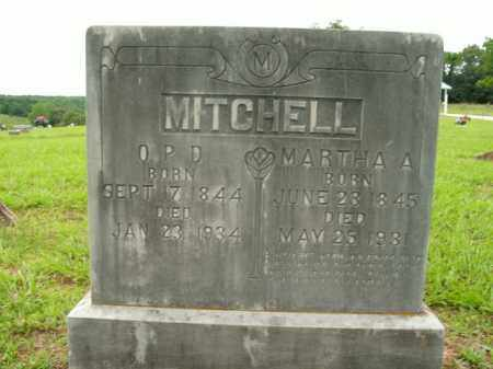 MITCHELL, MARTHA A. - Boone County, Arkansas | MARTHA A. MITCHELL - Arkansas Gravestone Photos