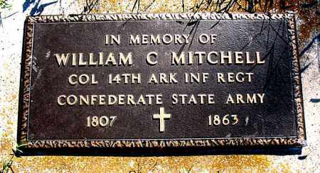 MITCHELL  (VETERAN CSA), WILLIAM  C. - Boone County, Arkansas | WILLIAM  C. MITCHELL  (VETERAN CSA) - Arkansas Gravestone Photos