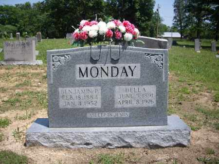 MONDAY, BENJAMIN P. - Boone County, Arkansas | BENJAMIN P. MONDAY - Arkansas Gravestone Photos