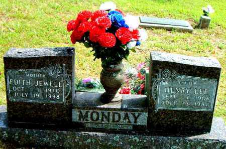 MONDAY, EDITH JEWELL - Boone County, Arkansas | EDITH JEWELL MONDAY - Arkansas Gravestone Photos