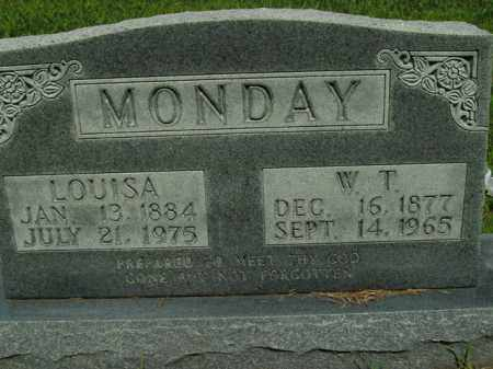 MONDAY, LOUISA - Boone County, Arkansas | LOUISA MONDAY - Arkansas Gravestone Photos