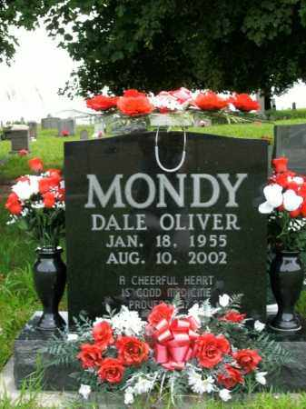 MONDY, DALE OLIVER - Boone County, Arkansas | DALE OLIVER MONDY - Arkansas Gravestone Photos