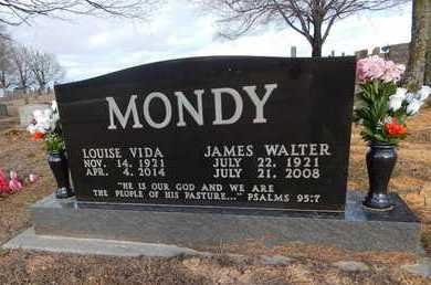 MONDY, JAMES WALTER - Boone County, Arkansas | JAMES WALTER MONDY - Arkansas Gravestone Photos