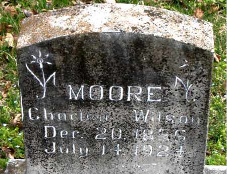 MOORE, CHARLEY WILSON - Boone County, Arkansas | CHARLEY WILSON MOORE - Arkansas Gravestone Photos