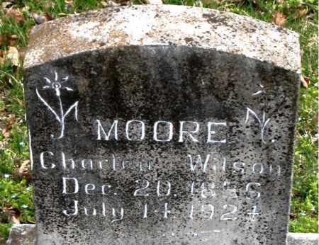 MOORE, CHARLEY WILSON - Boone County, Arkansas   CHARLEY WILSON MOORE - Arkansas Gravestone Photos