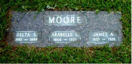 MOORE, ARABELLE LINCOLN - Boone County, Arkansas | ARABELLE LINCOLN MOORE - Arkansas Gravestone Photos