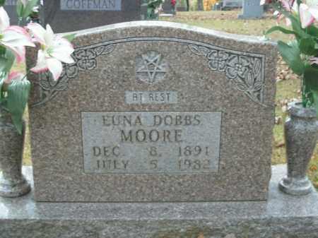 MOORE, EUNA DOBBS - Boone County, Arkansas | EUNA DOBBS MOORE - Arkansas Gravestone Photos