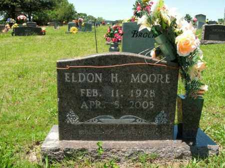 MOORE, ELDON H. - Boone County, Arkansas | ELDON H. MOORE - Arkansas Gravestone Photos