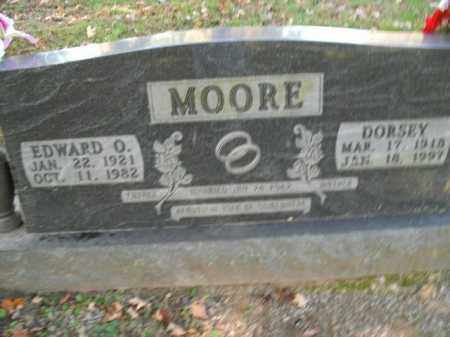 MOORE, EDWARD O. - Boone County, Arkansas | EDWARD O. MOORE - Arkansas Gravestone Photos