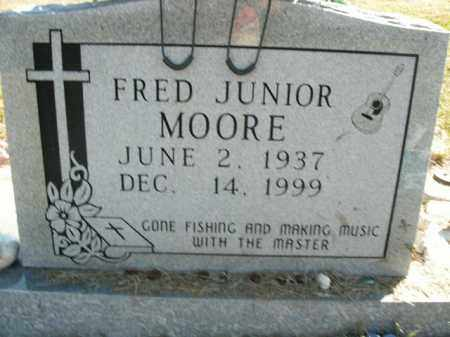MOORE, FRED JUNIOR - Boone County, Arkansas | FRED JUNIOR MOORE - Arkansas Gravestone Photos