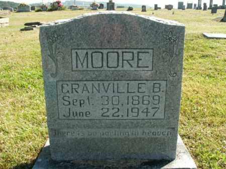 MOORE, GRANVILLE B. - Boone County, Arkansas | GRANVILLE B. MOORE - Arkansas Gravestone Photos