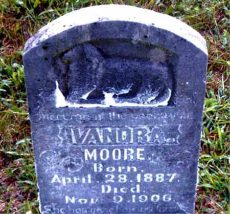 MOORE, IVANORA - Boone County, Arkansas | IVANORA MOORE - Arkansas Gravestone Photos