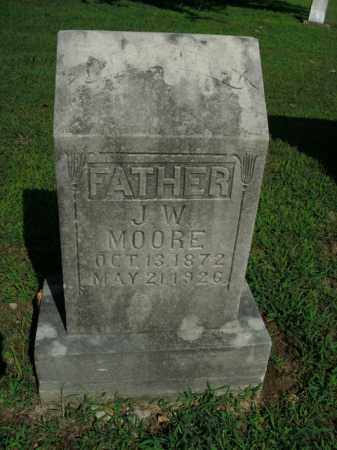 MOORE, J.W. - Boone County, Arkansas   J.W. MOORE - Arkansas Gravestone Photos