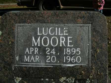 MOORE, LUCILE - Boone County, Arkansas | LUCILE MOORE - Arkansas Gravestone Photos