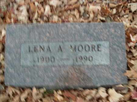 MOORE, LENA A. - Boone County, Arkansas | LENA A. MOORE - Arkansas Gravestone Photos
