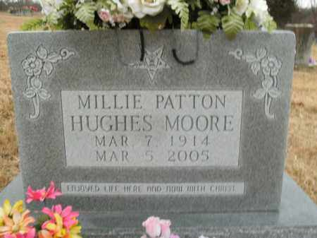 PATTON MOORE, MILLIE - Boone County, Arkansas | MILLIE PATTON MOORE - Arkansas Gravestone Photos