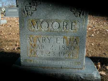 MOORE, MARY ETTA - Boone County, Arkansas | MARY ETTA MOORE - Arkansas Gravestone Photos