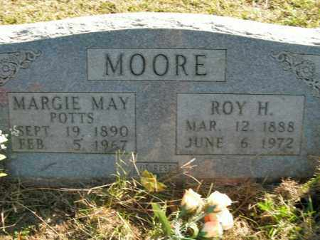 POTTS MOORE, MARGIE MAY - Boone County, Arkansas | MARGIE MAY POTTS MOORE - Arkansas Gravestone Photos