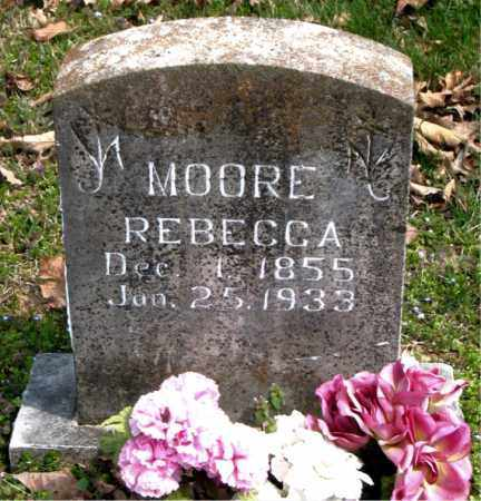 MOORE, REBECCA - Boone County, Arkansas | REBECCA MOORE - Arkansas Gravestone Photos