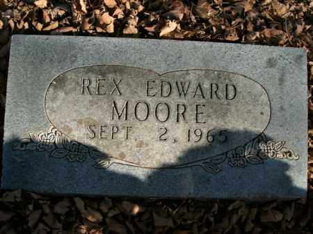 MOORE, REX EDWARD - Boone County, Arkansas | REX EDWARD MOORE - Arkansas Gravestone Photos