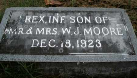 MOORE, REX - Boone County, Arkansas | REX MOORE - Arkansas Gravestone Photos