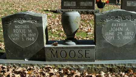MOOSE, JOHN A. - Boone County, Arkansas | JOHN A. MOOSE - Arkansas Gravestone Photos