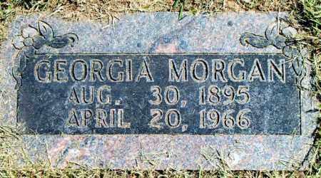 MORGAN, GEORGIA - Boone County, Arkansas | GEORGIA MORGAN - Arkansas Gravestone Photos