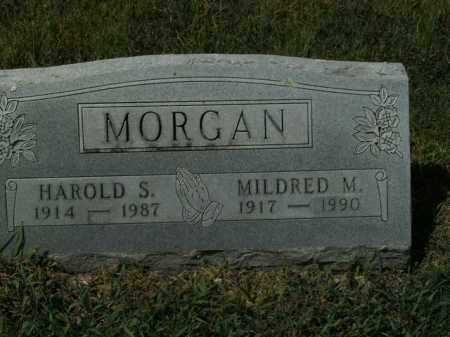 MORGAN, HAROLD S. - Boone County, Arkansas | HAROLD S. MORGAN - Arkansas Gravestone Photos