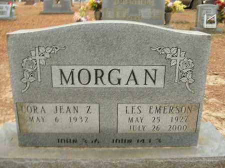 MORGAN, LES EMERSON - Boone County, Arkansas | LES EMERSON MORGAN - Arkansas Gravestone Photos