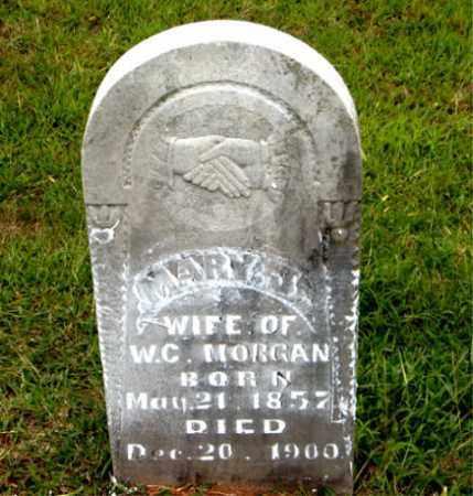 MORGAN, MARY  J. - Boone County, Arkansas | MARY  J. MORGAN - Arkansas Gravestone Photos