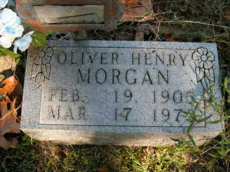 MORGAN, OLIVER HENRY - Boone County, Arkansas | OLIVER HENRY MORGAN - Arkansas Gravestone Photos