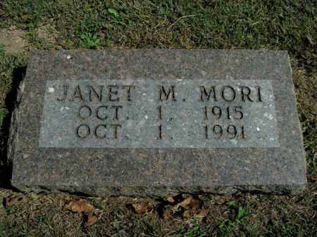 MORI, JANET M. - Boone County, Arkansas | JANET M. MORI - Arkansas Gravestone Photos