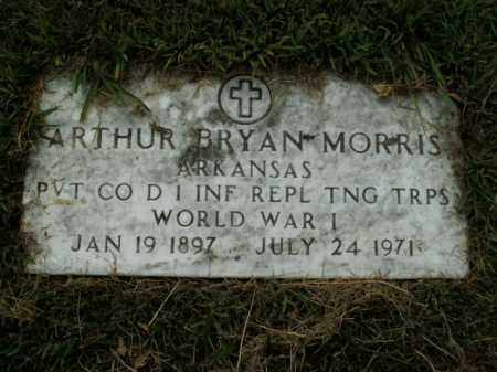 MORRIS  (VETERAN WWI), ARTHUR BRYAN - Boone County, Arkansas | ARTHUR BRYAN MORRIS  (VETERAN WWI) - Arkansas Gravestone Photos