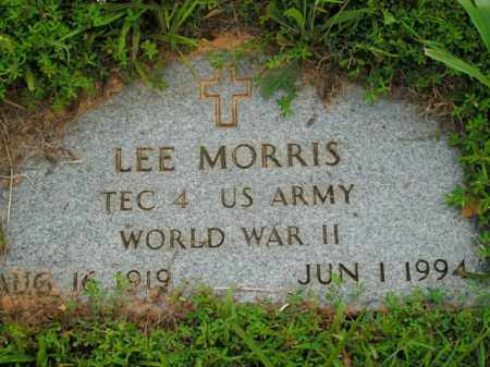 MORRIS  (VETERAN WWII), LEE - Boone County, Arkansas | LEE MORRIS  (VETERAN WWII) - Arkansas Gravestone Photos