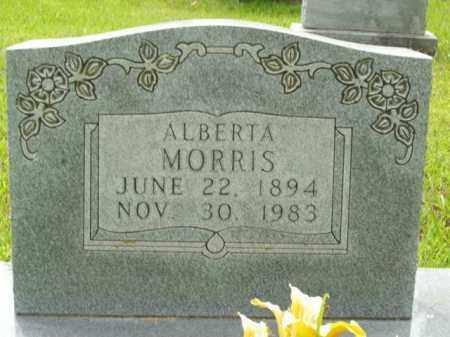MORRIS, ALBERTA - Boone County, Arkansas | ALBERTA MORRIS - Arkansas Gravestone Photos