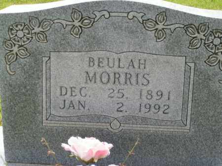 MORRIS, BEULAH - Boone County, Arkansas | BEULAH MORRIS - Arkansas Gravestone Photos