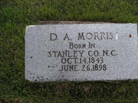 MORRIS, D.A. - Boone County, Arkansas | D.A. MORRIS - Arkansas Gravestone Photos