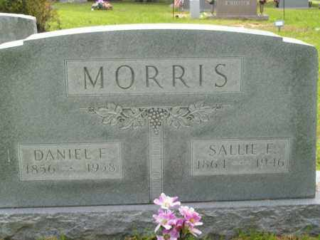 MORRIS, SALLIE F. - Boone County, Arkansas | SALLIE F. MORRIS - Arkansas Gravestone Photos