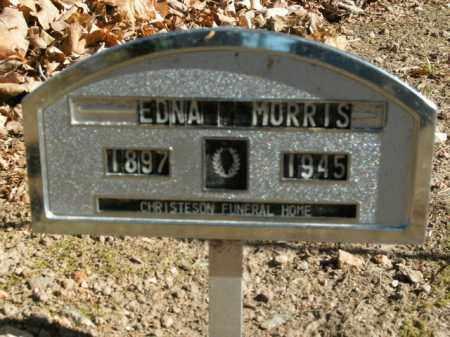 MORRIS, EDNA L. - Boone County, Arkansas | EDNA L. MORRIS - Arkansas Gravestone Photos