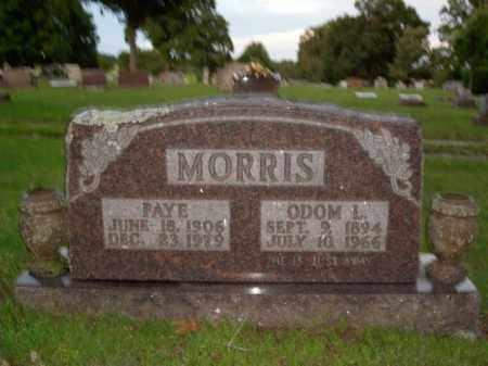 MORRIS, FAYE - Boone County, Arkansas | FAYE MORRIS - Arkansas Gravestone Photos