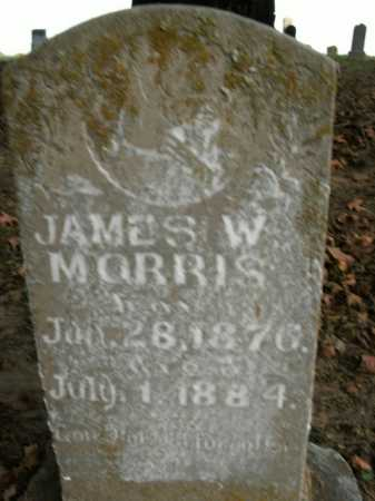 MORRIS, JAMES W. - Boone County, Arkansas | JAMES W. MORRIS - Arkansas Gravestone Photos