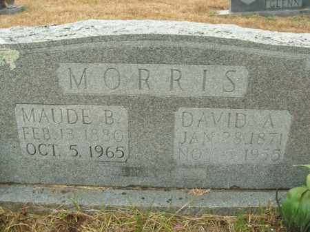 MORRIS, DAVID A. - Boone County, Arkansas | DAVID A. MORRIS - Arkansas Gravestone Photos