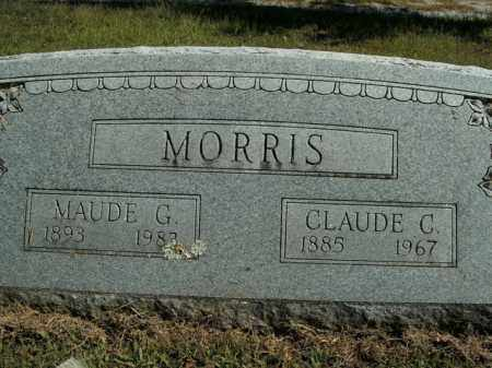MORRIS, CLAUDE C. - Boone County, Arkansas | CLAUDE C. MORRIS - Arkansas Gravestone Photos