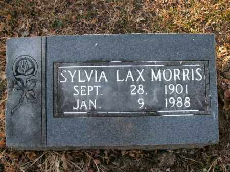 MORRIS, SYLVIA LAX - Boone County, Arkansas | SYLVIA LAX MORRIS - Arkansas Gravestone Photos