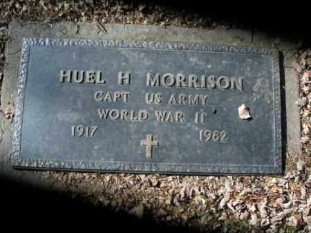 MORRISON  (VETERAN WWII), HUEL H - Boone County, Arkansas | HUEL H MORRISON  (VETERAN WWII) - Arkansas Gravestone Photos