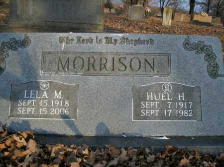 MORRISON, HUEL H. - Boone County, Arkansas | HUEL H. MORRISON - Arkansas Gravestone Photos