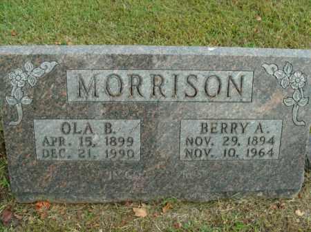 MORRISON, OLA B. - Boone County, Arkansas | OLA B. MORRISON - Arkansas Gravestone Photos