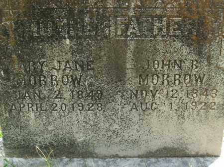 MORROW, MARY JANE - Boone County, Arkansas | MARY JANE MORROW - Arkansas Gravestone Photos