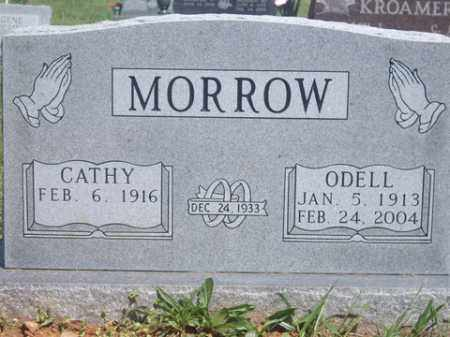 MORROW, ODELL - Boone County, Arkansas | ODELL MORROW - Arkansas Gravestone Photos