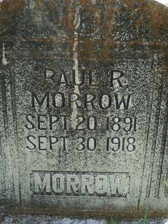 MORROW, PAUL R. - Boone County, Arkansas | PAUL R. MORROW - Arkansas Gravestone Photos